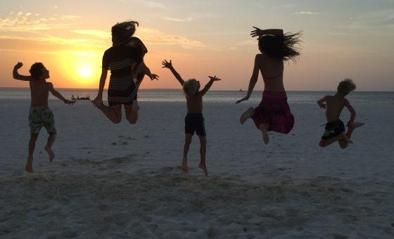 Safari&Beach With Kids